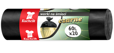 Worki HDPE 60L, 20 szt. (2721)